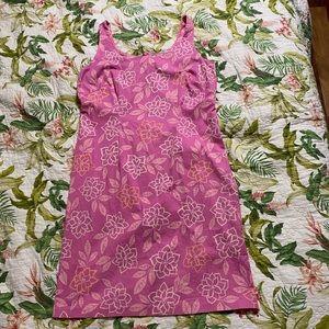 Sigrid Olsen Pink Tank Shift Dress Size 14